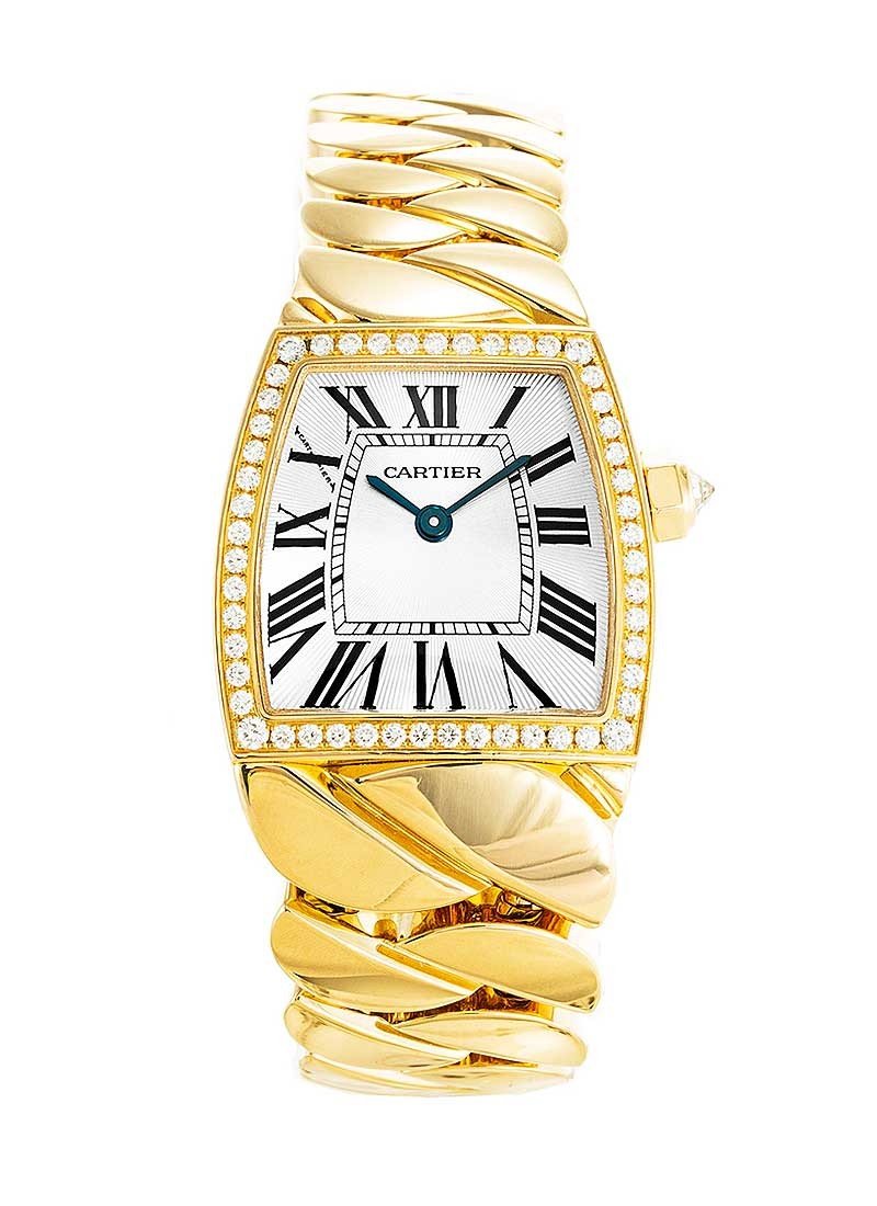 Cartier La Dona de Cartier iin Yellow Gold with Diamond Bezel