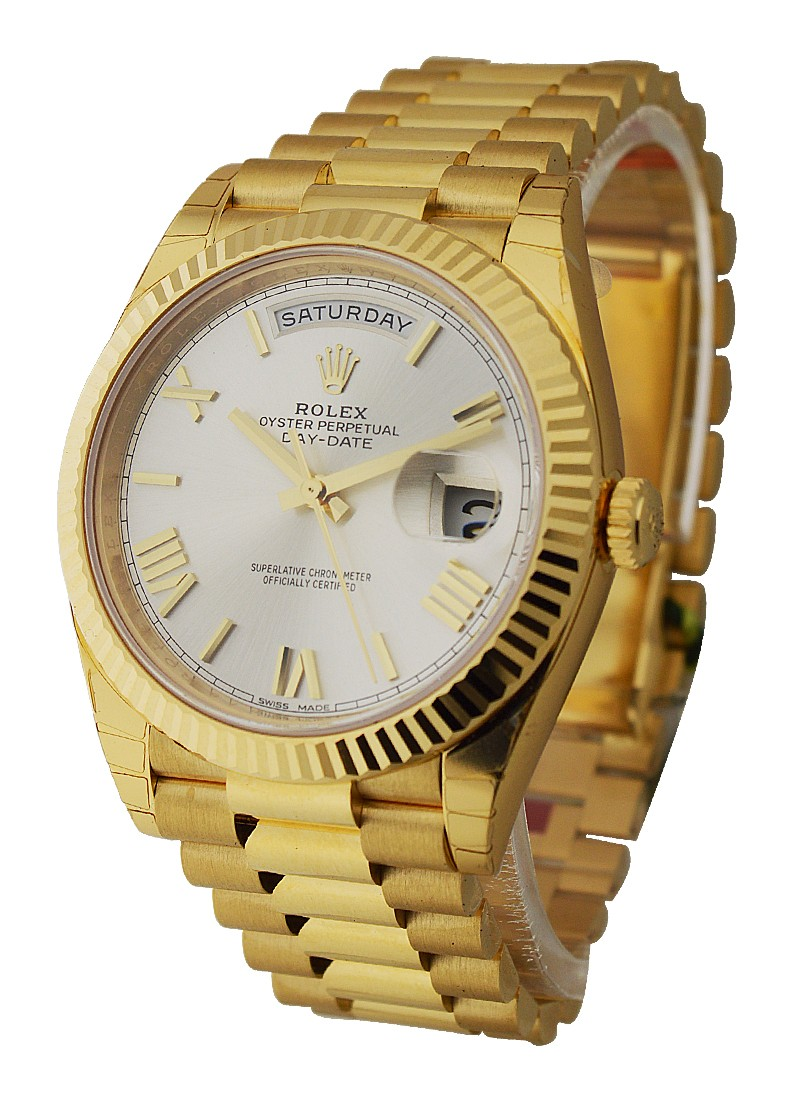 Rolex Unworn Day Date 40mm President  in Yellow Gold