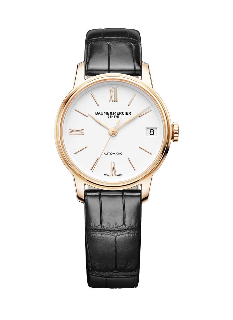 Baume & Mercier Classima 31mm in Rose Gold