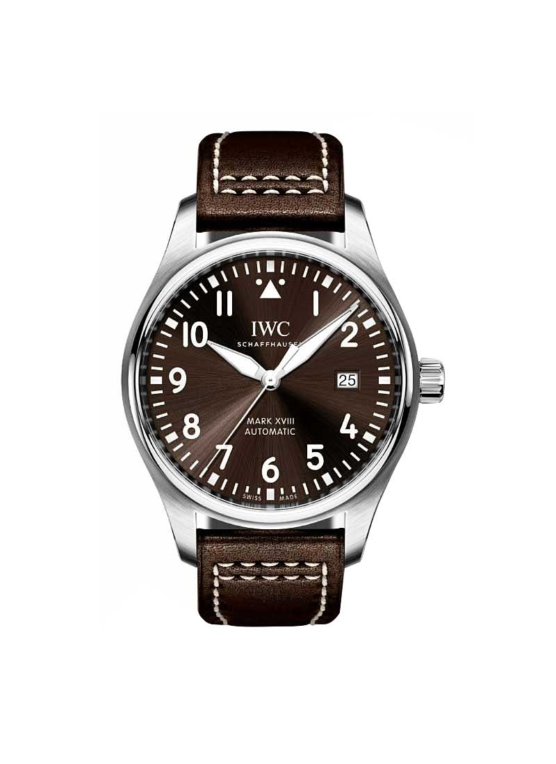 IWC Pilot's Watch Mark XVIII Antoine de Saint Exupery in Steel