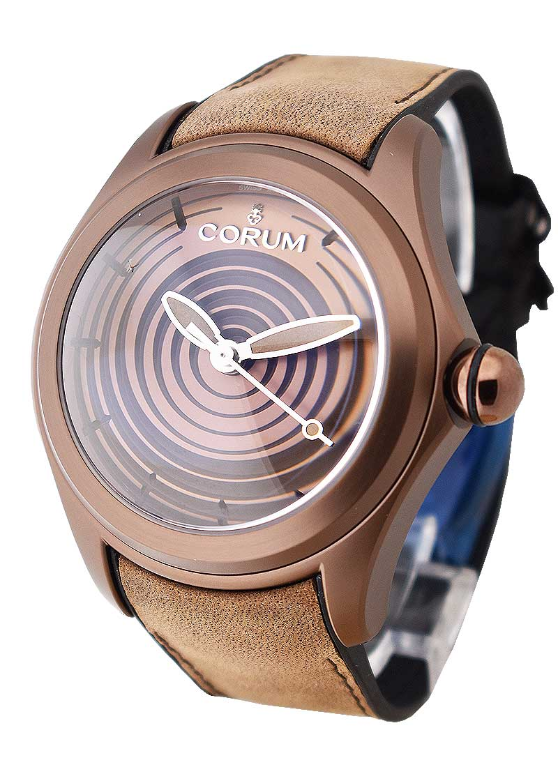 Corum Bubble XL Paiste 47mm in Brown Ion Steel