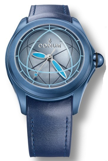 Corum Bubble Sphere 2 in Blue PVD Steel