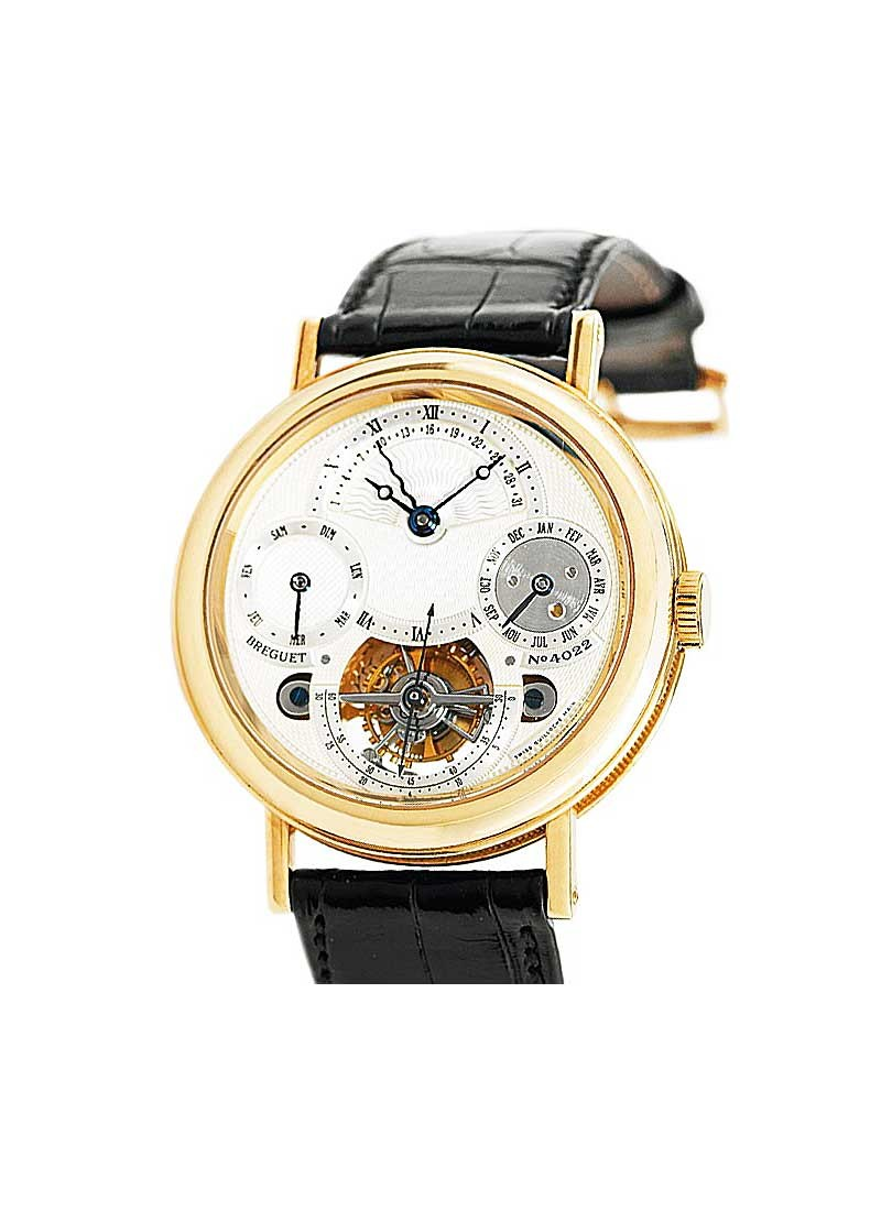 Breguet Classique Grand Tourbillon in Yellow Gold