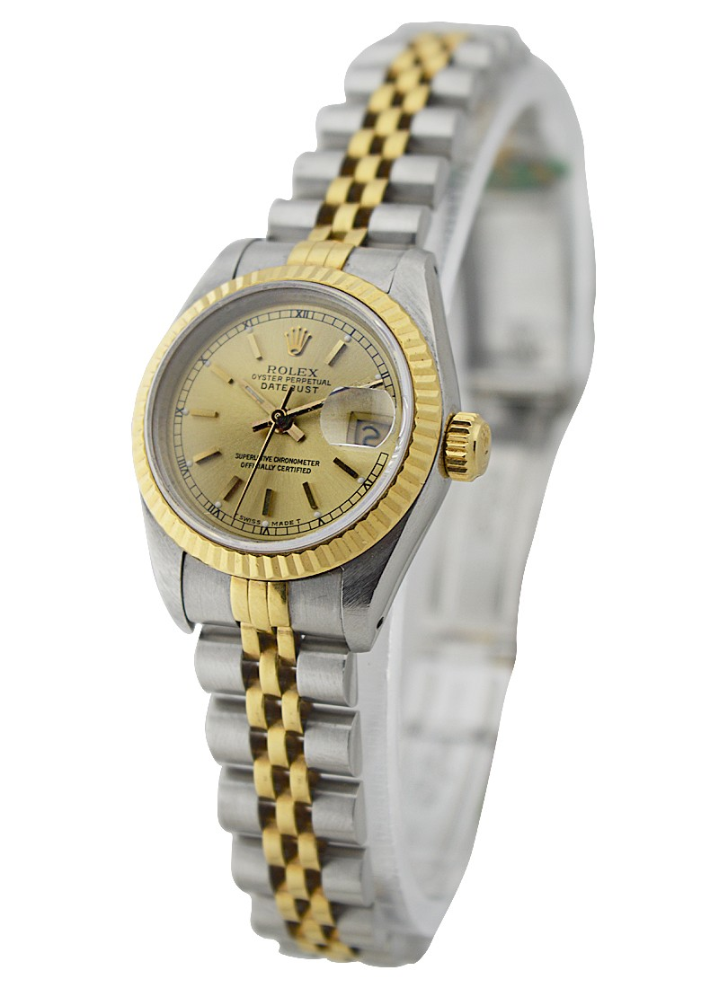 Rolex Used Lady's 2 Tone DATEJUST with Jubilee Bracelet 69173