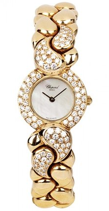 Chopard Casmir in Yellow Gold with Diamond Bezel