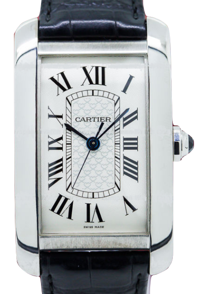 Cartier Tank Americaine XL in White Gold   Limited Edition