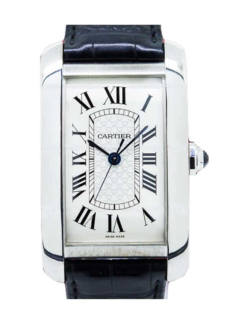 Cartier Tank Americaine XL in White Gold - Limited Edition