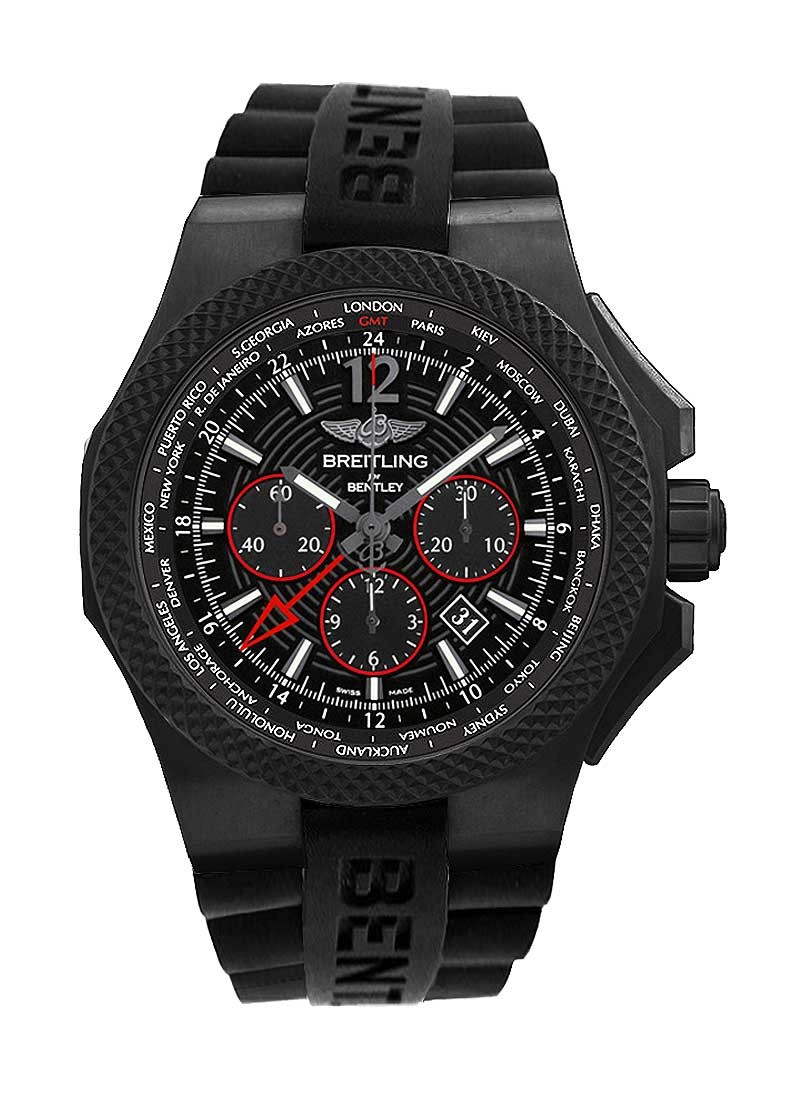 Breitling Bentley GMT Light Body B04 Midnight Carbon 49mm  in Titanium