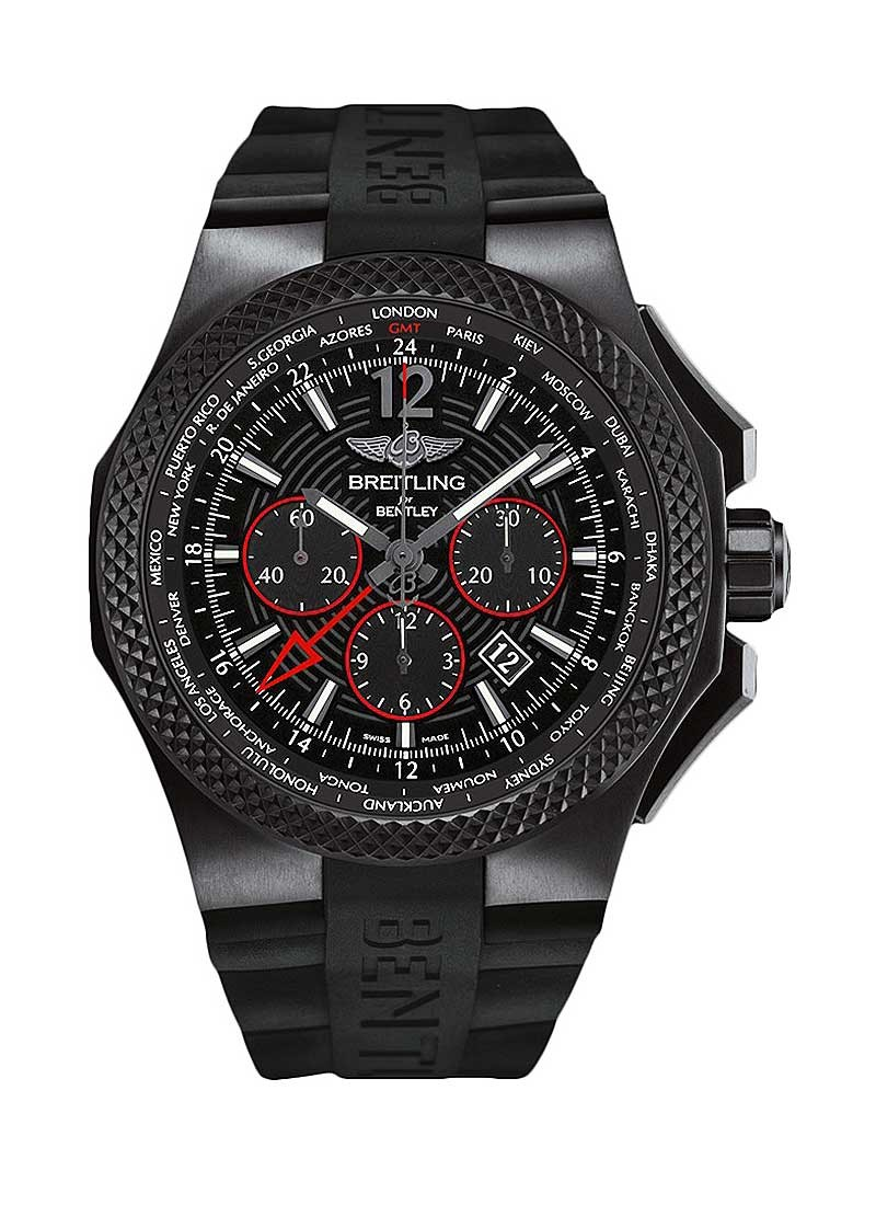 Breitling Bentley GMT Light Body B04 S 45mm in Titanium