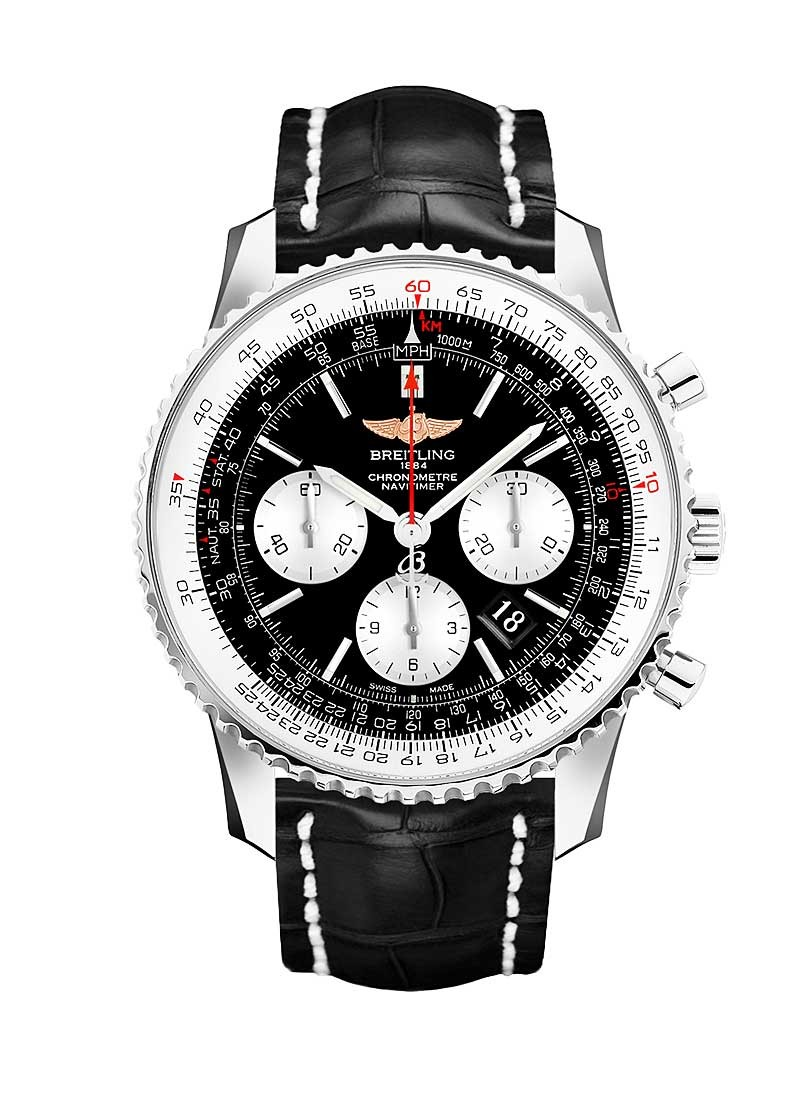 Breitling Navitimer 01 Chronograph 46mm in Steel