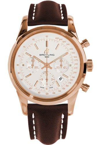 Breitling Transocean Chronograph in Rose Gold
