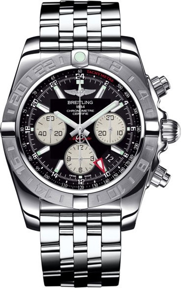 Breitling Chronomat GMT Chronograph 47mm Automatic in Steel