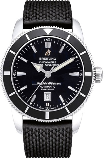 Breitling Superocean Heritage in Steel with Black Bezel