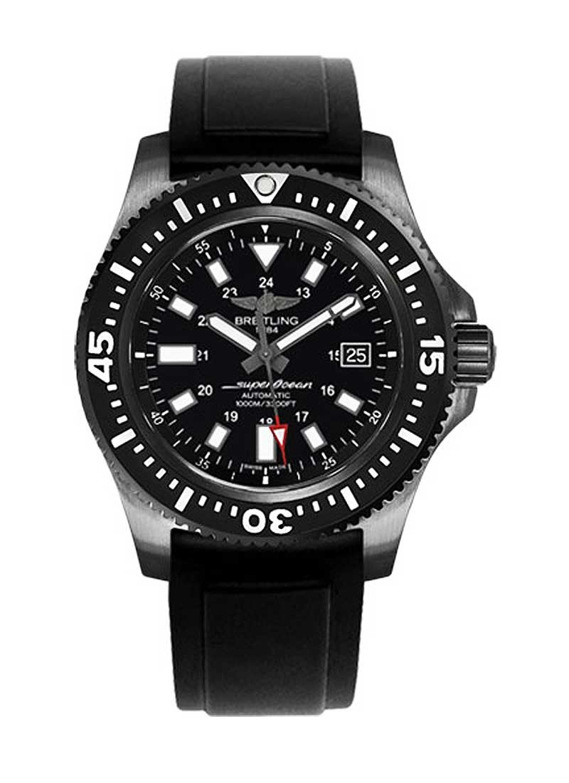 Breitling Superocean 44 Special Automatic in Black Steel