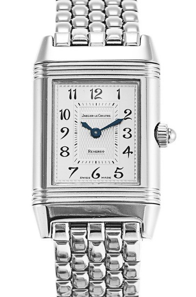 Jaeger - LeCoultre Reverso Duetto in Steel with Diamonds