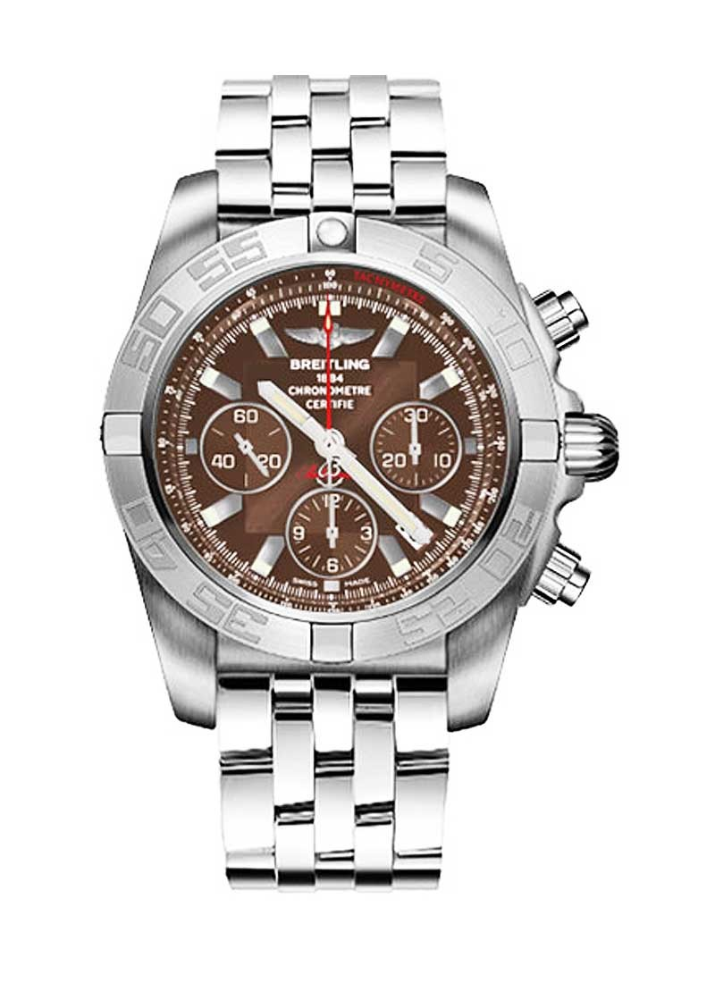 Breitling Chronomat 44 Chronograph in White Gold