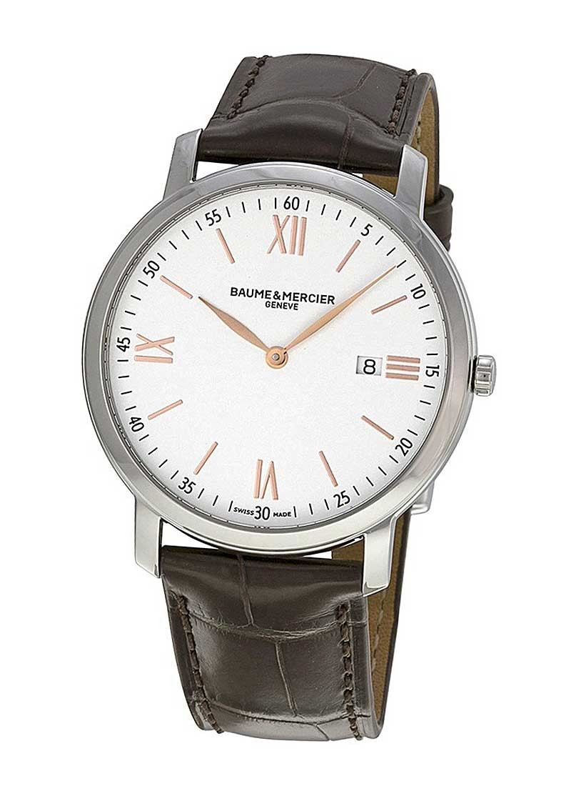 Baume & Mercier Classima 39mm in Steel