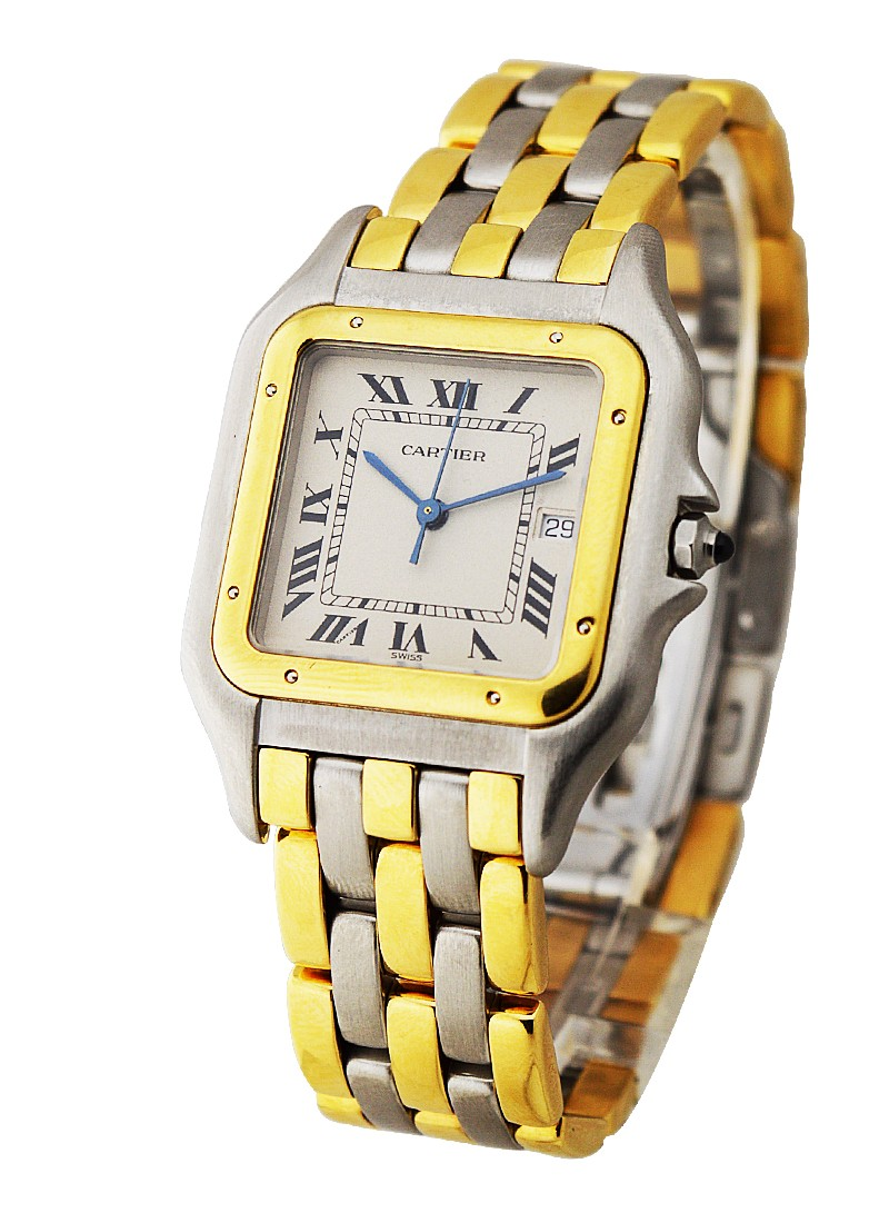 Cartier Panther 2-Tone Jumbo Size with 3-Row Bracelet