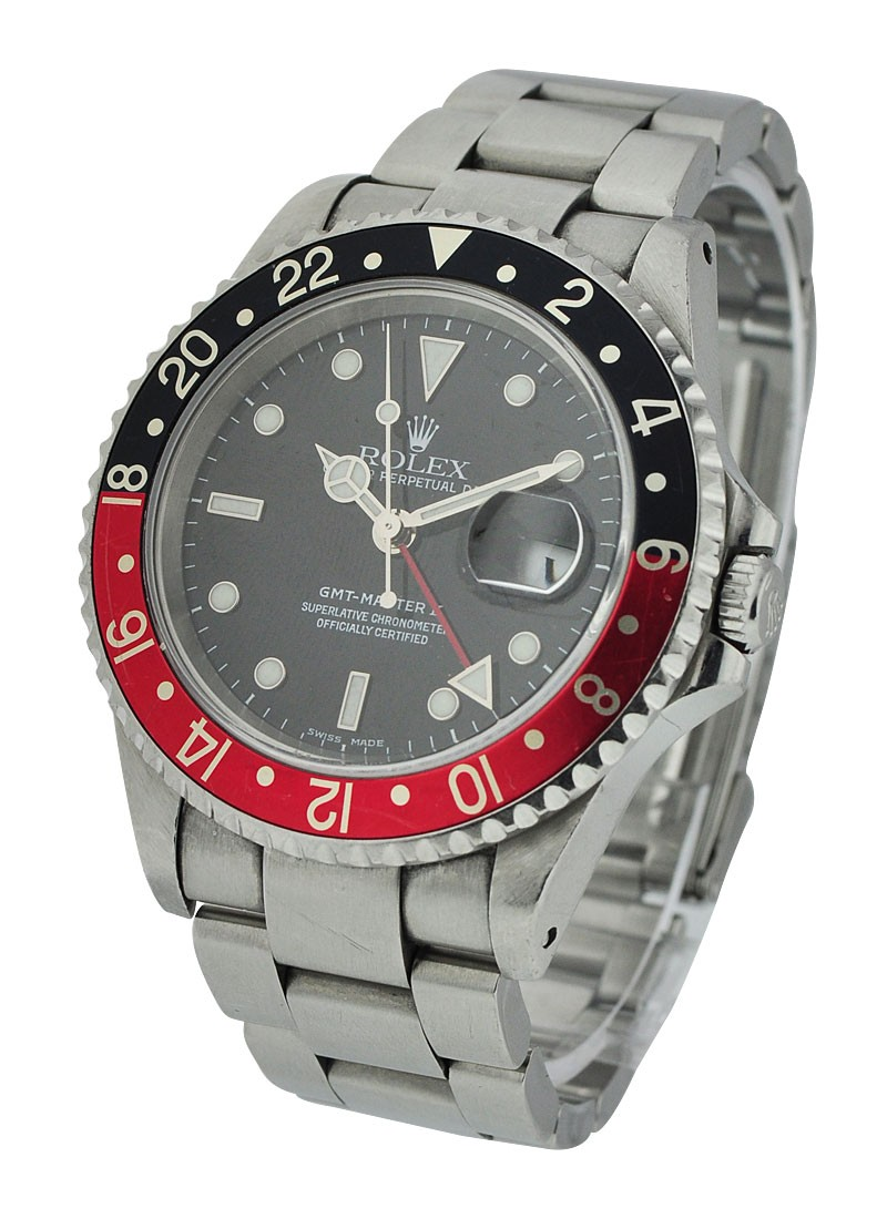 Pre-Owned Rolex GMT Master - Coke Bezel - Black and Red Bezel