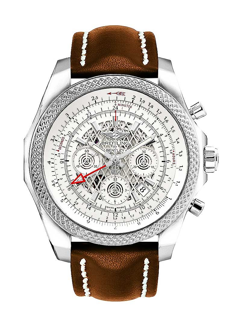 Breitling Bentley B04 GMT Chronograph 49mm  in Steel