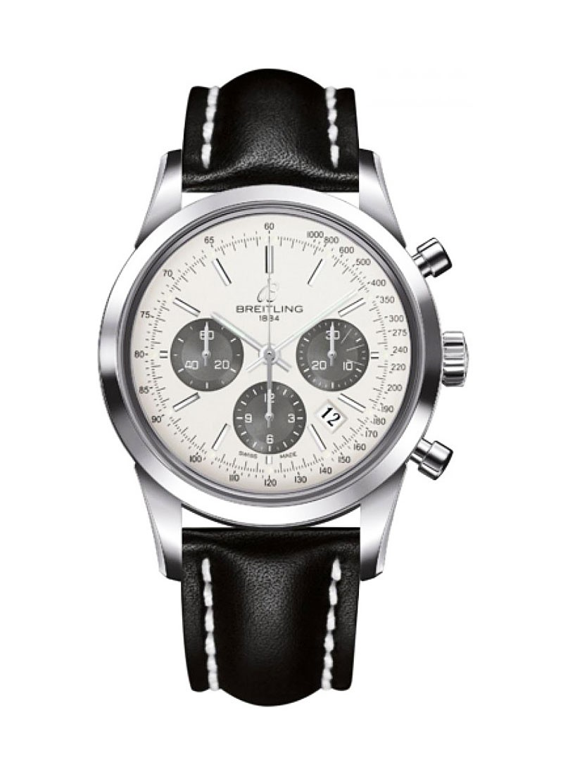 Breitling Transocean Chronomatic 43mm in Steel