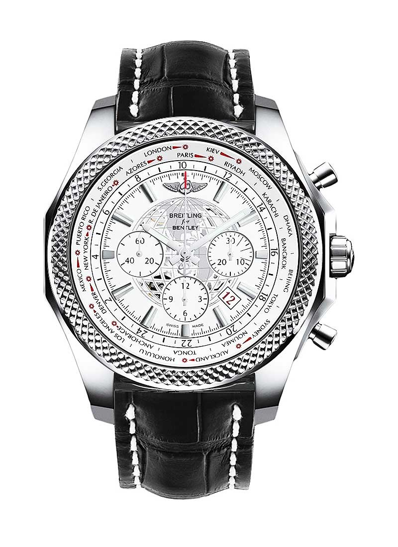 Breitling Bentley B05 Unitime GMT Chronograph 49mm  in Steel