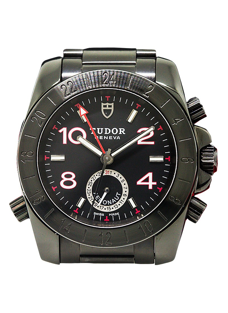 Tudor Aeronaut GMT 40mm Automatic in Black Steel