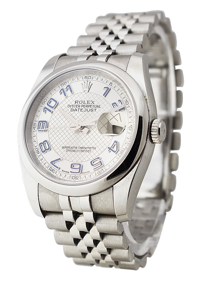 Rolex Used Datejust 36mm in Steel with Domed Bezel