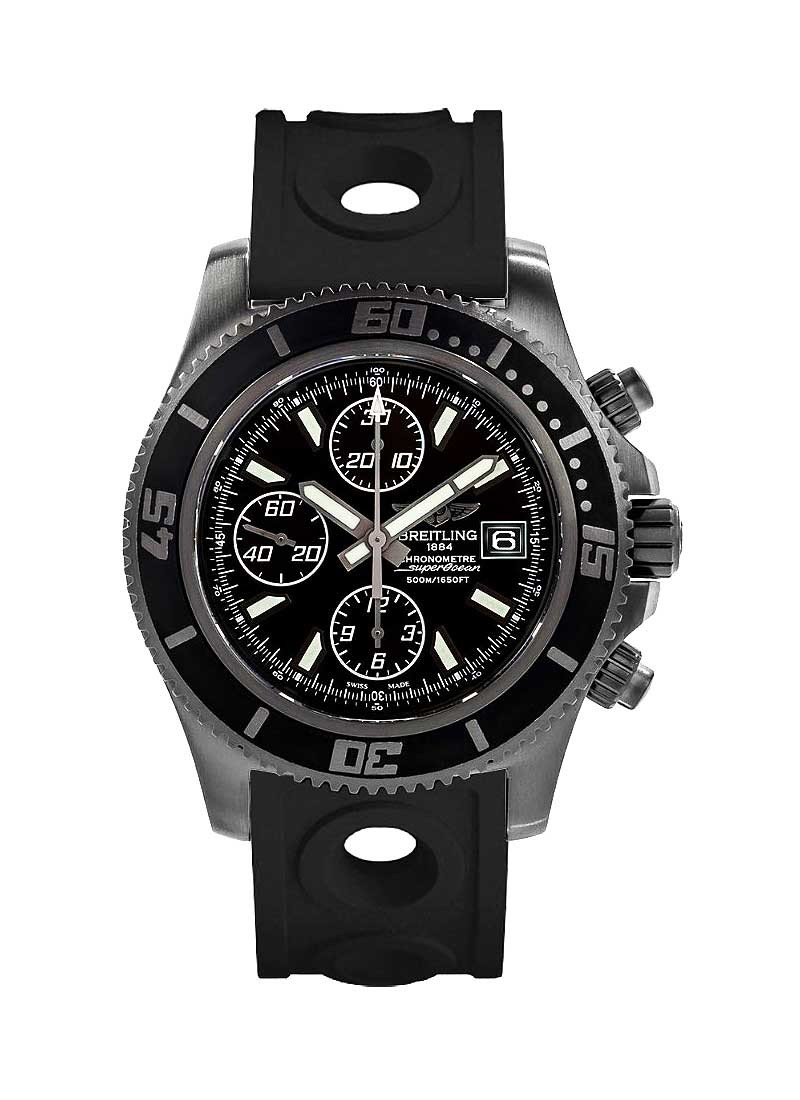 Breitling Superocean Chronograph 44mm in Black DLC Steel