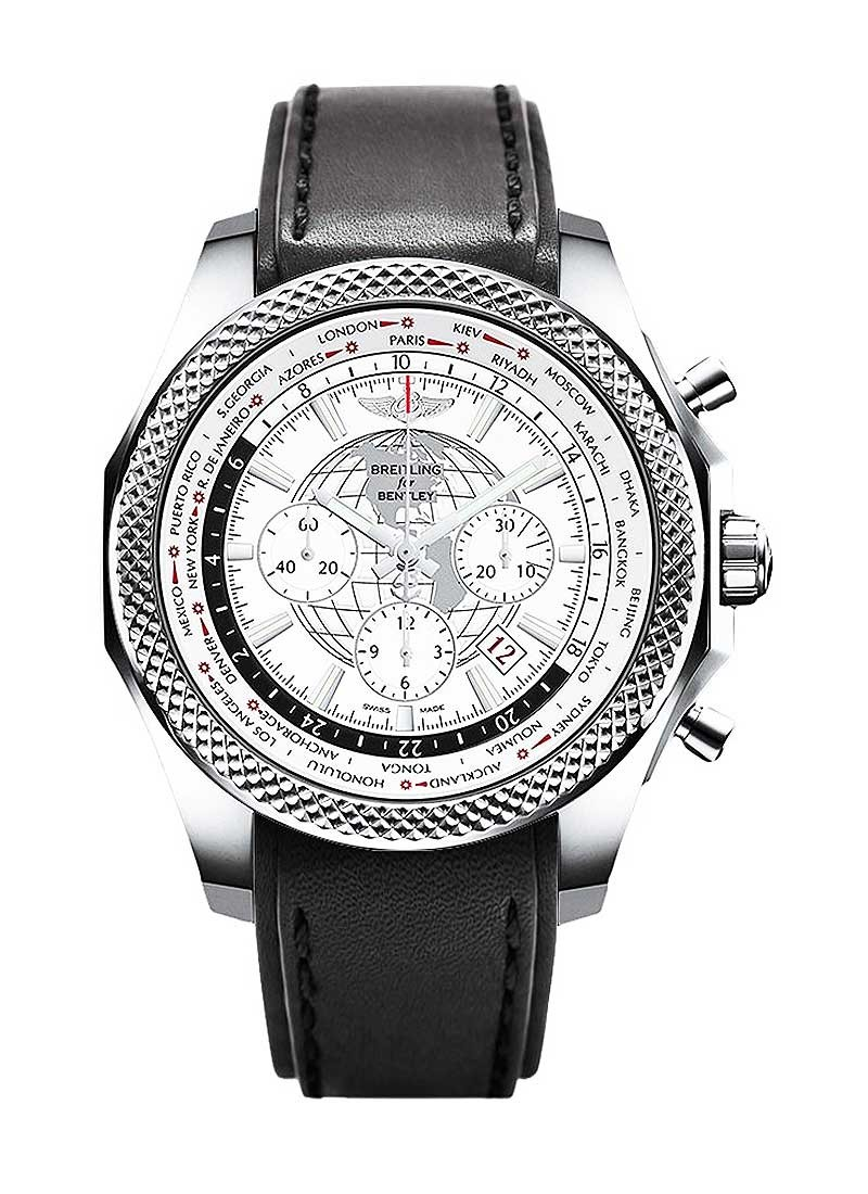 Breitling Bentley B05 Unitime Chronograph in Steel