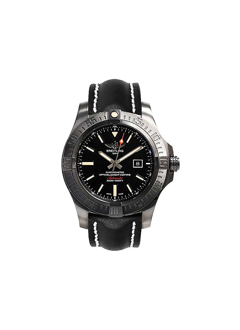 Breitling Avenger Blackbird 48mm in Black Titanium