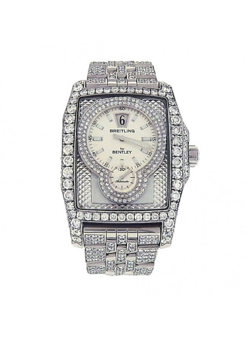 Breitling Bentley Flying B 39mm Automatic in Steel with Diamonds Bezels