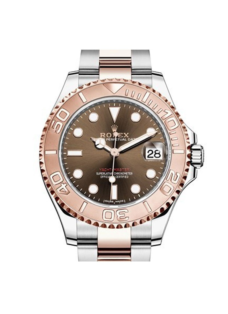 Rolex Unworn Yacht Master 37mm Automatic in Steel and Everose Gold