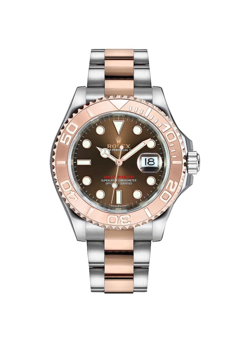 Rolex Unworn Yacht-Master 37mm in Steel with Rose Gold Bezel