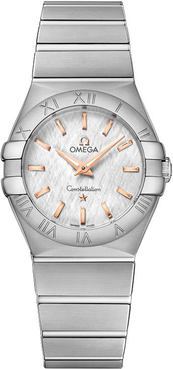 Omega Constellation Polished 27mm Quartz in Steel