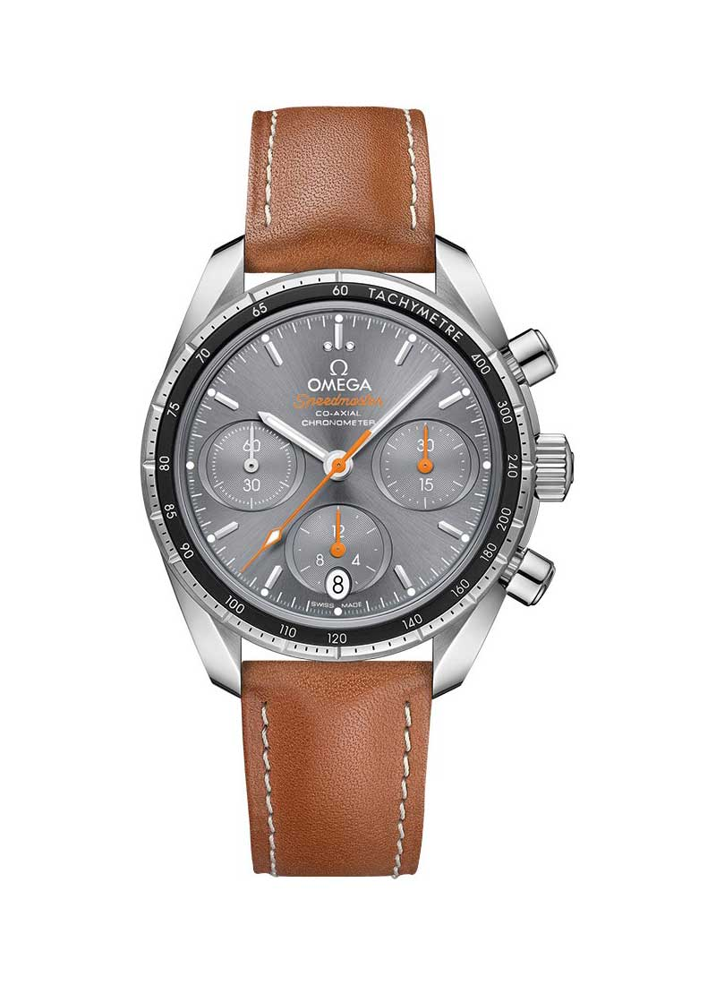 Omega Speedmaster Co-Axial Chronograph in Steel with Inner Black Aluminum Bezel