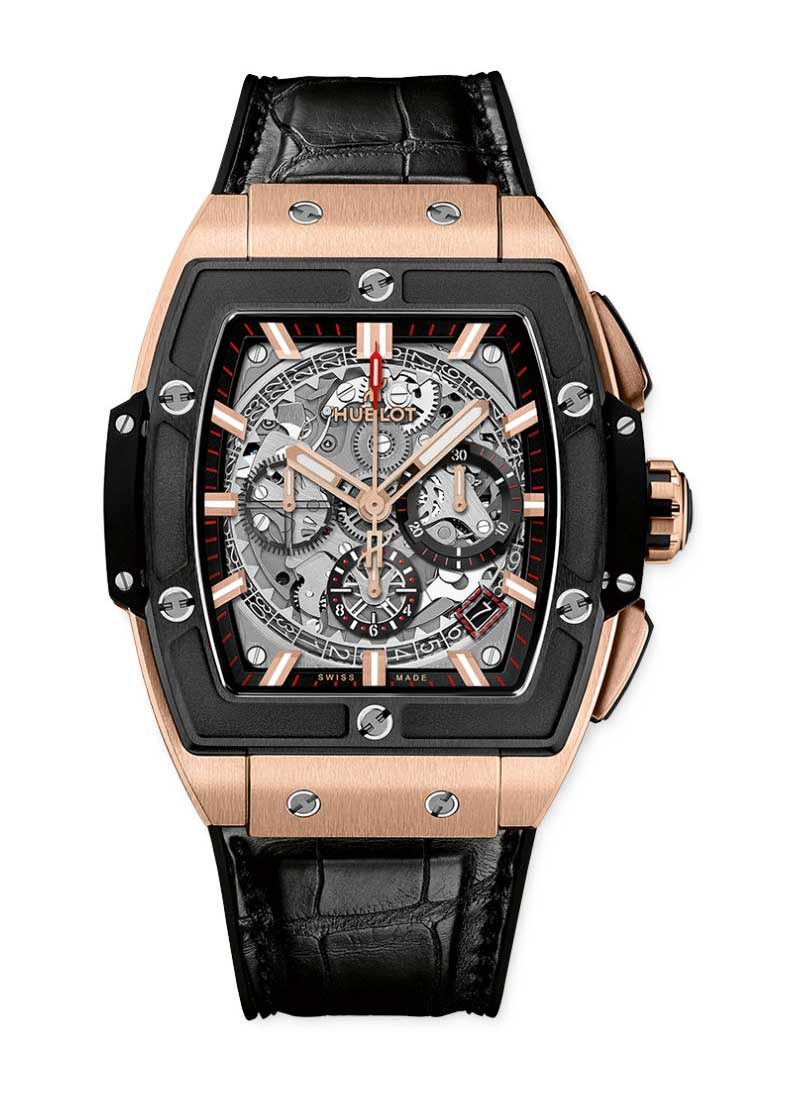 Hublot Spirit of Big Bang in Rose Gold with Ceramic Bezel