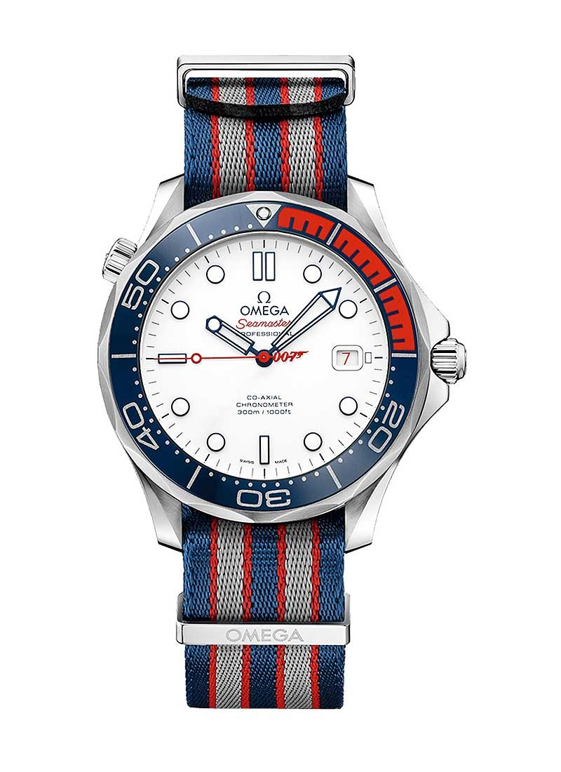 Omega Seamaster James Bond Diver 300M in Steel - Limited Edition of 7007 Pieces