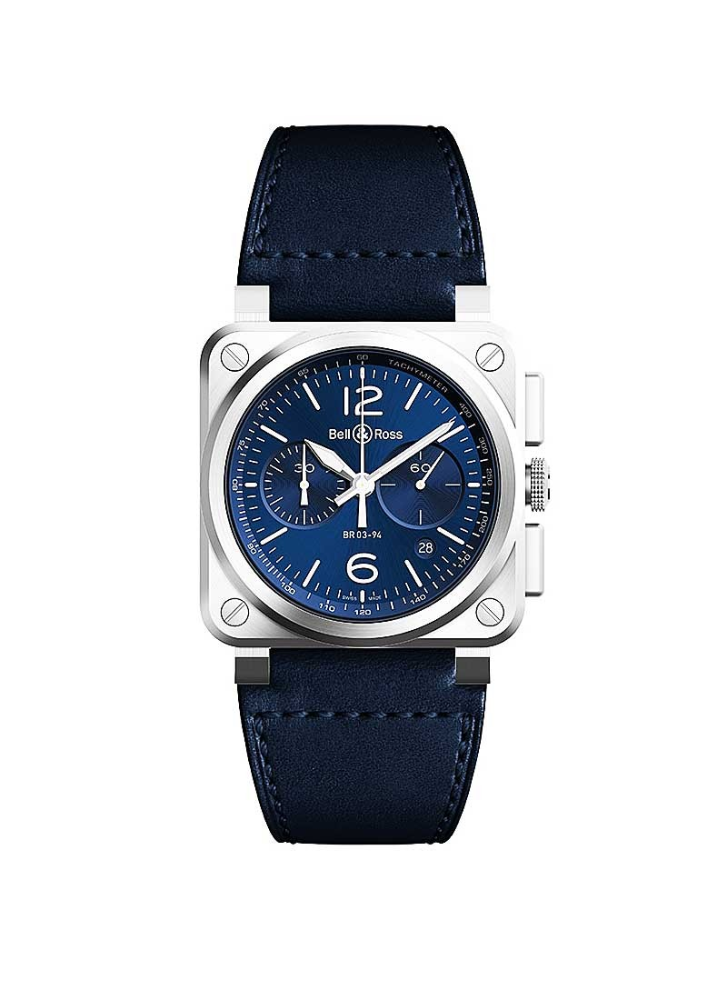 Bell & Ross BR 03-94 Blue in Steel