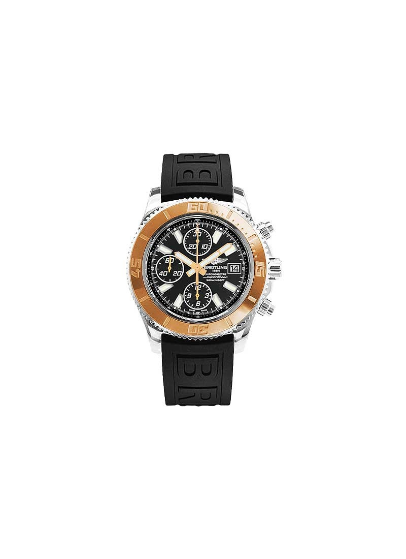 Breitling Superocean Chronograph II 44mm in Steel with Rose Gold Bezel