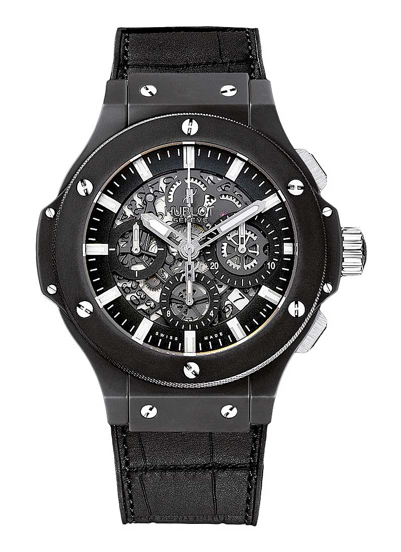 Hublot Big Bang Aero Bang Black in Black Ceramic