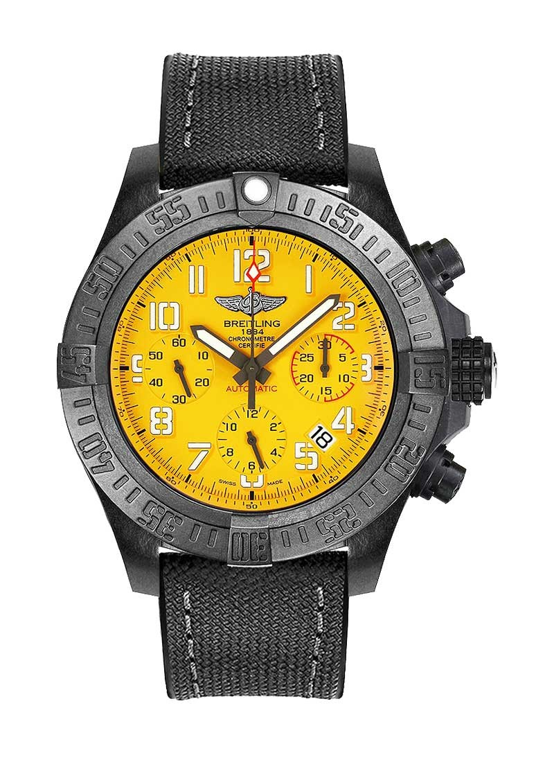 Breitling Avenger Hurricane Chronograph 50mm in Black Polymer