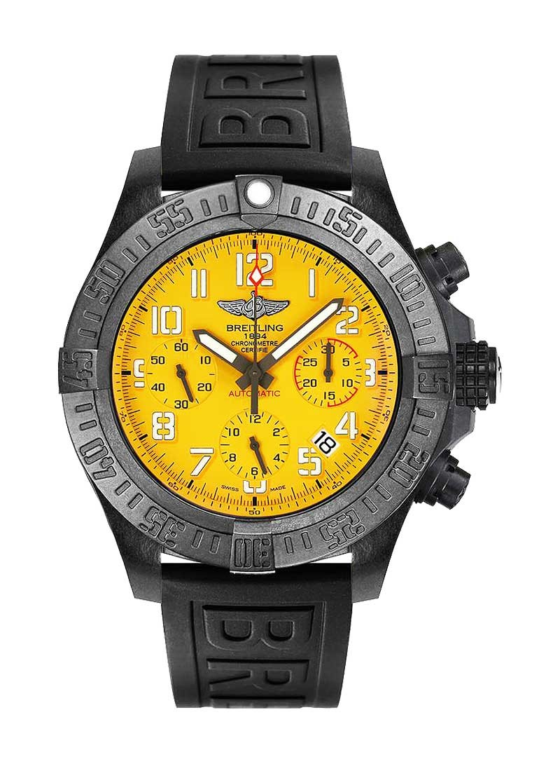 Breitling Avenger Hurricane Chronograph 45mm in Black Polymer
