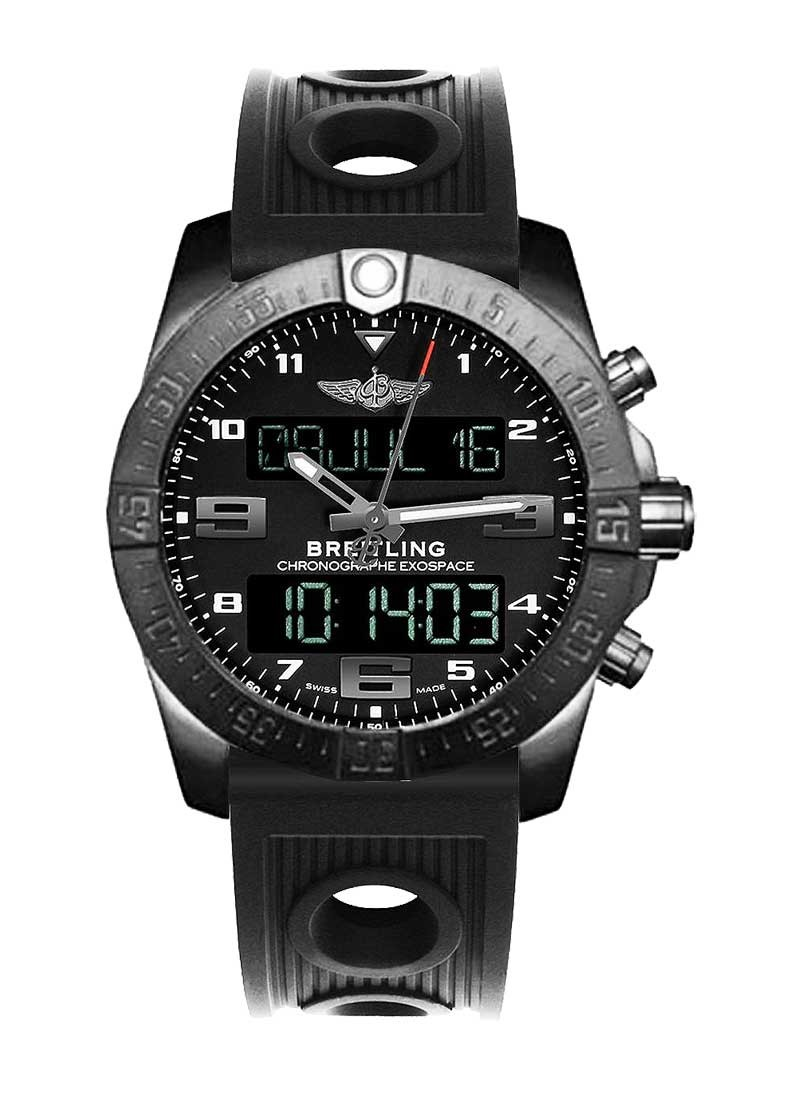 Breitling Exospace B55 Night Mission Chronograph in Black Titanium