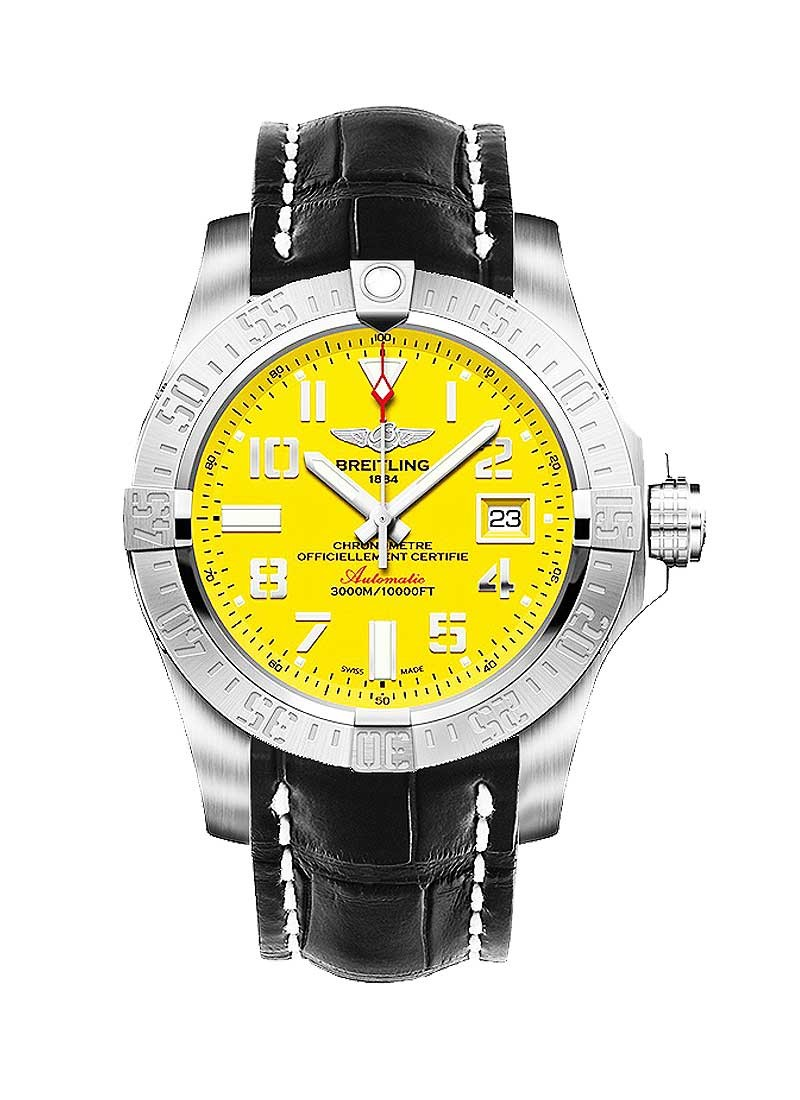 Breitling Avenger II Seawolf Chronograph 45mm Automatic in Steel