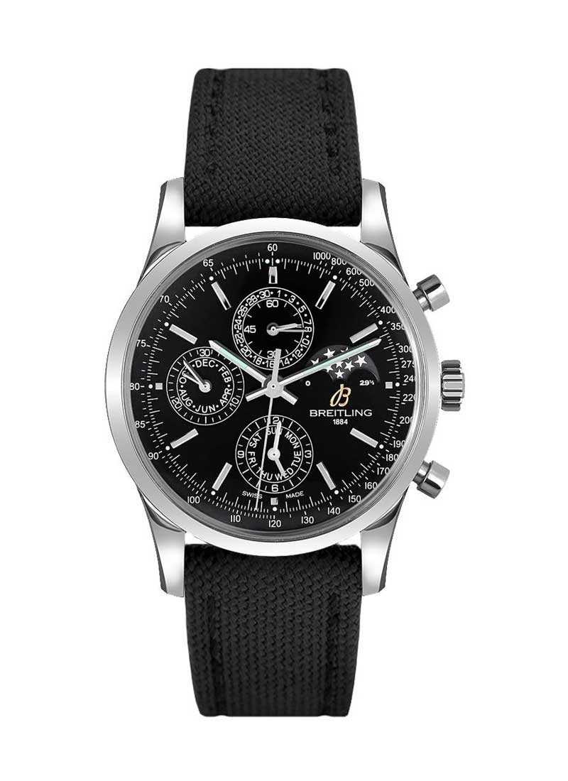 Breitling Transocean Chronogprah 1461 43mm Automatic in Steel
