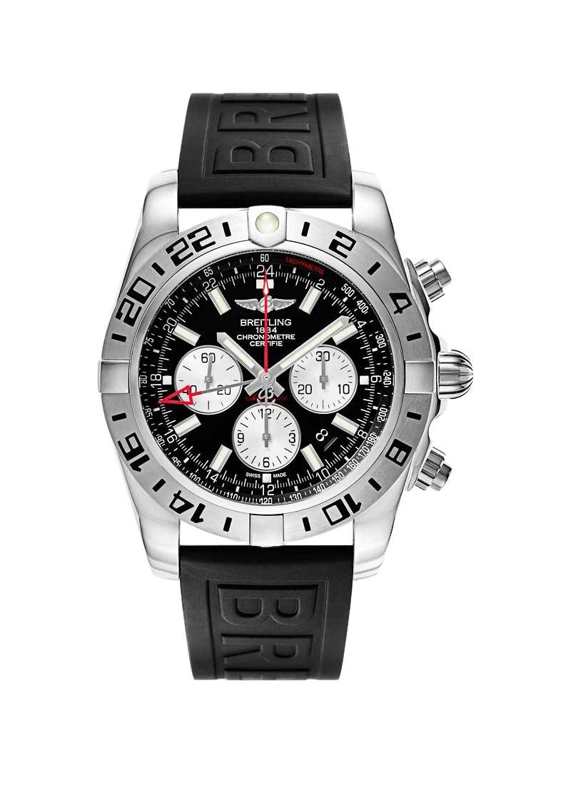 Breitling Chronomat GMT Chronograph Automatic in Steel