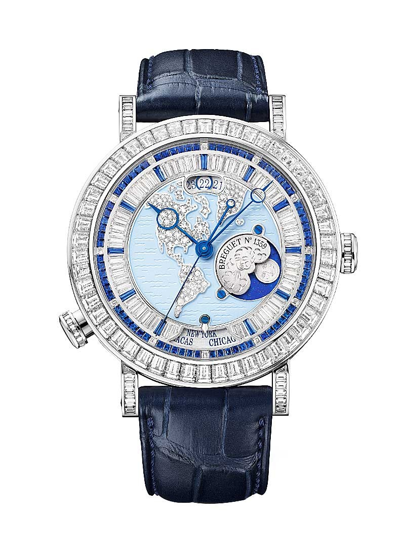 Breguet Grand Complications High Jewelry Hora Mundi - Diamonds