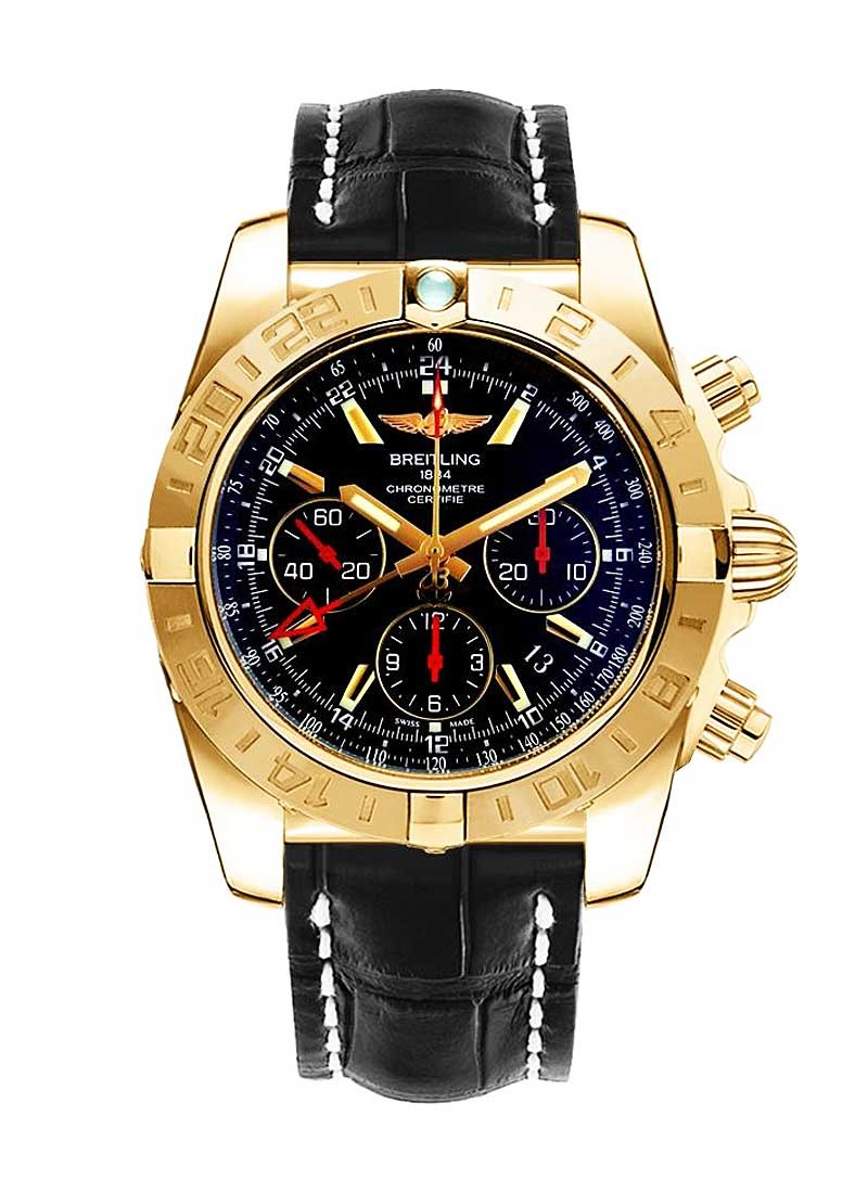 Breitling Chronomat GMT 44mm Automatic in Rose Gold