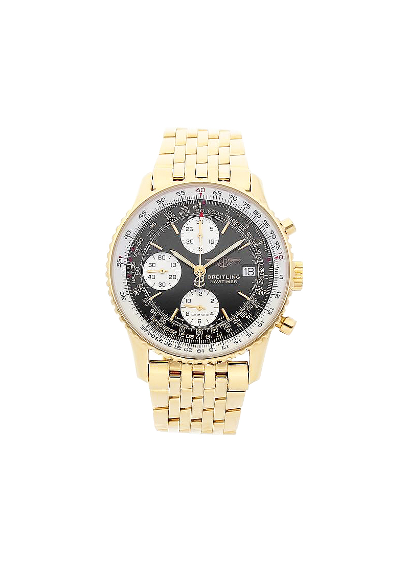 Breitling Navitimer Chronograph in Yellow Gold